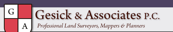 Gesick and Associates P.C., Professional Land Surveyors, Mappers and Planners